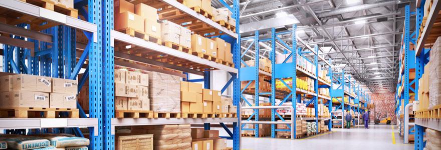 Location d'entrepôts de stockage et de plateformes logistiques
